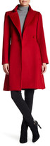 Sofia Cashmere Wrap Belted Wool Blend Coat