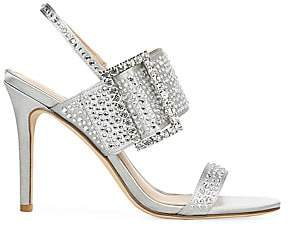 Via Spiga Women's Macyn 2 Embellished Satin Sandals
