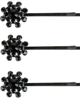 Jeweled Flower Bobby Pin