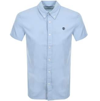 Timberland Milford Short Sleeved Shirt Blue
