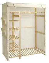 argos canvas wardrobe shopstyle uk. Black Bedroom Furniture Sets. Home Design Ideas