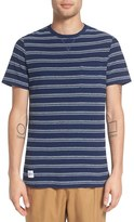 NATIVE YOUTH Men's 'Xenon' Stripe Knit Pocket T-Shirt