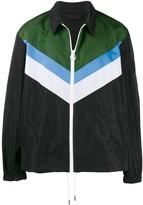 Diesel colour-block coach jacket