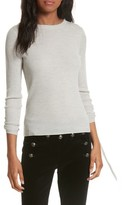 Veronica Beard Women's Owen Drawstring Merino Wool Sweater