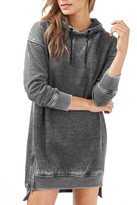Topshop Hooded Sweatshirt Dress