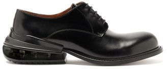 Maison Margiela Airbag-heel Leather Derby Shoes - Black