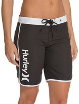 "Hurley Women's Supersuede Solid 9"" Beachrider Boardshort 48223"