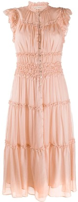 Ulla Johnson Rosalind tiered silk dress