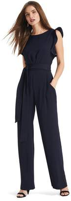 Phase Eight Womens Blue Victoriana Jumpsuit - Blue