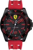 Ferrari Scuderia Men's XX Kers Red Silicone Strap Watch 50mm 830308