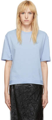 McQ Blue Taped Swallow Boyfriend T-Shirt