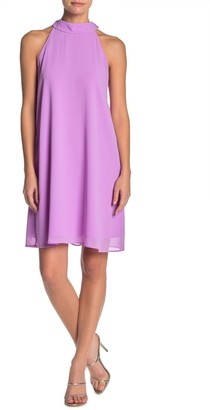 One One Six Twist Back Sleeveless Mini Dress