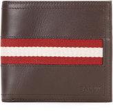 Bally Tye stripe panel wallet