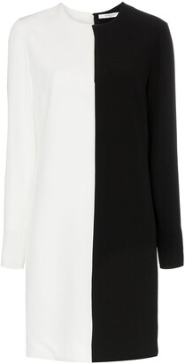 Givenchy Two-tone shift dress