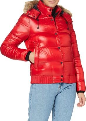 Superdry Women's High Shine Toya Bomber Jacket