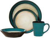 Pfaltzgraff Aria Teal 16-pc. Dinnerware Set