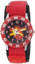Disney Boy's 'Cars 3' Quartz Stainless Steel and Nylon Casual Watch