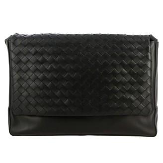 Bottega Veneta Messenger Bag In Woven Leather