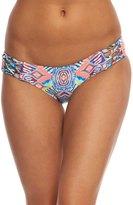 Red Carter Beauty & The Beach Reversible Side Tie Hipster Bikini Bottom 8156677