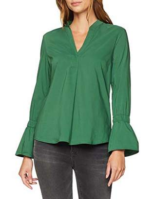 More & More Women's Bluse Blouse, (Ivy Green 0658), 8