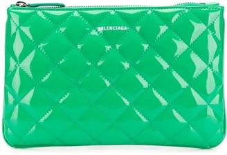 Balenciaga Ville M quilted pouch