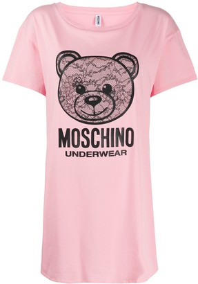 Moschino Teddy logo print T-shirt