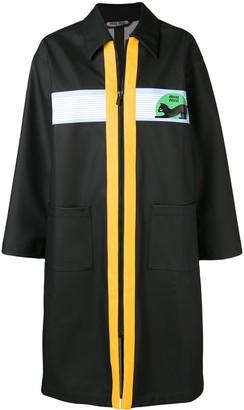 Miu Miu zipped trench coat