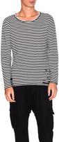 NSF Lorel Stripe Shirt in Black & White