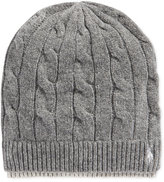 Polo Ralph Lauren Two-Tone Cable Beanie
