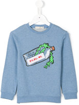 Stella McCartney Read Me sweatshirt - kids - Cotton - 4 yrs