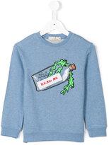 Stella McCartney Read Me sweatshirt