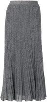 Missoni glitter pleated skirt