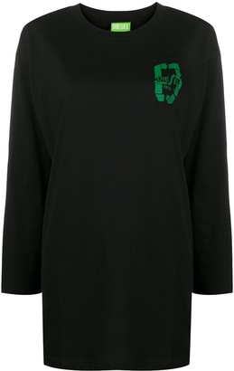 Diesel Only The Brave oversized sweatshirt