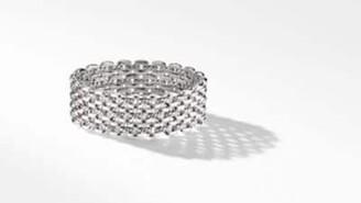David Yurman Thoroughbred Three-Row Cuff Bracelet