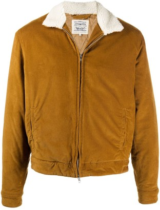 Levi's Faux Shearling Bomber Jacket