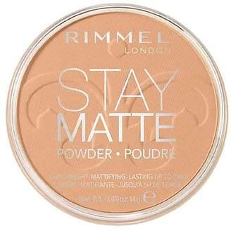 Rimmel Stay Matte Pressed Powder, Deep Beige