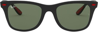 Ray-Ban Scuderia Ferrari Rectangle Sunglasses