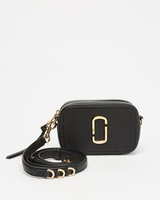 Marc Jacobs Women's Black Leather bags - The Softshot 17 Cross-Body Bag - Size One Size at The Iconic