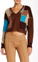 L.A.M.B. Patchwork Sweater
