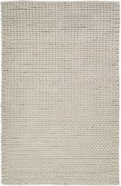 Surya Anchorage ANC-1000 Shag Hand Woven 100% New Zealand Wool Winter White 8' x 11' Area Rug