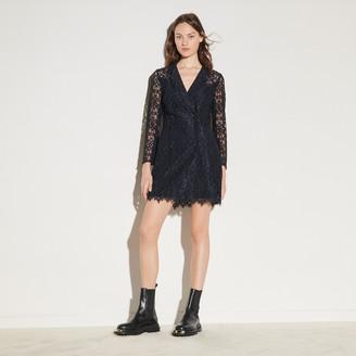 Sandro Lace coat dress
