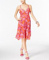 INC International Concepts Handkerchief-Hem Shift Dress, Only at Macy's