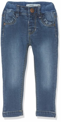 Name It Baby Girls' Nmfpolly Dnmtrilla 2155 Pant Noos Jeans