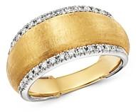 Marco Bicego 18K Yellow & White Gold Lucia Diamond Ring