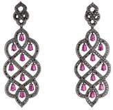 Carla Amorim 18K Ruby & Diamond Chandelier Earrings