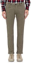 Barena Venezia Men's Twill Skinny Trousers-Grey