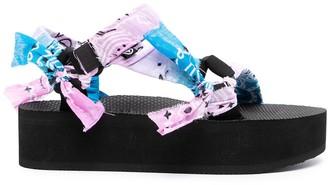 Arizona Love Chunky Strappy Sandals