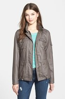 Vince Camuto Women's Coated Cotton Four Pocket Jacket