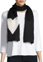 Wooden Ships Knit Heart Scarf