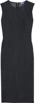 Thierry Mugler Stretch-mesh Midi Dress